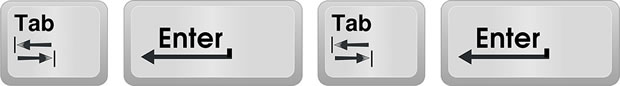 Hot Keys for Google Chrome